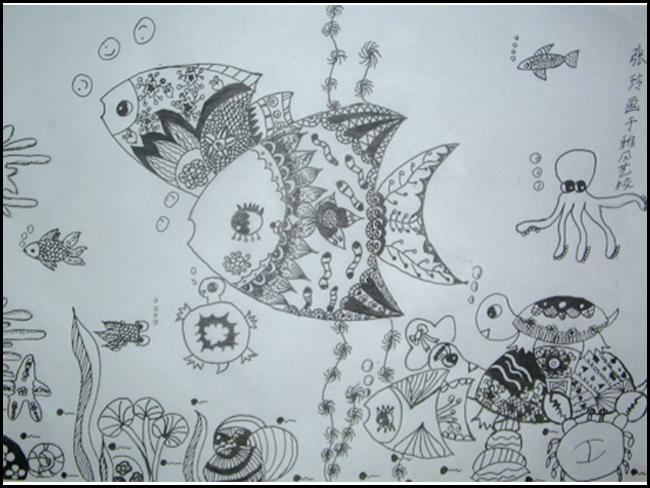线描-学生作品-雅风艺术学校