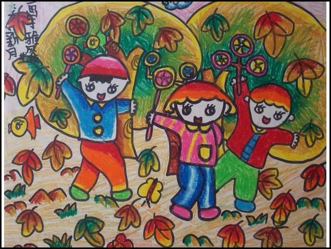 儿童画-学生作品-雅风艺术学校