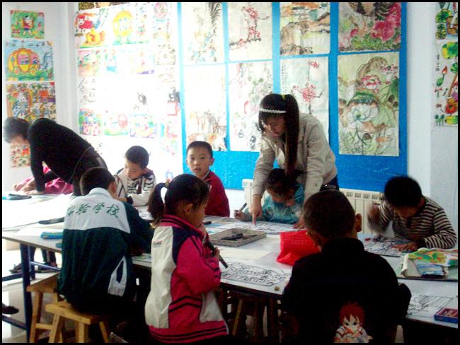 儿童画班-校园风采-雅风艺术学校